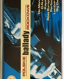 POLSKIE BALLADY ROCKOWE vol.2 PERFECT, LOMBARD..audio cassette