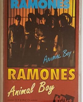 RAMONES ANIMAL BOY audio cassette