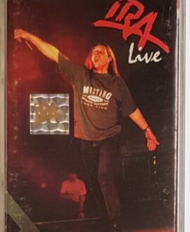 IRA LIVE audio cassette