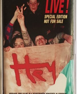 HEY LIVE! SPECIAL EDITION audio cassette