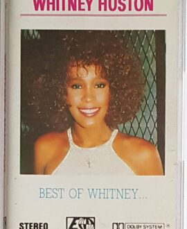 WHITNEY HUSTON BEST OF WHITNEY audio cassette