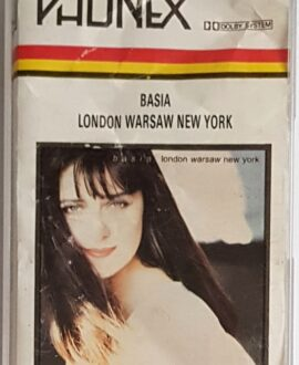 BASIA LONDON WARSAW NEW YORK audio cassette