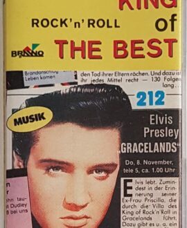 ELVIS PRESLEY KING OF THE BEST audio cassette