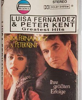 LUISA FERNANDEZ & PETER KENT audio cassette