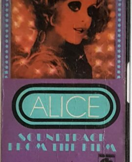 ALICE SOUNDTRACK audio cassette