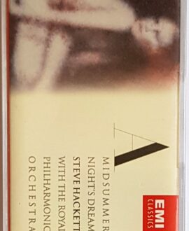 STEVE HACKETT A MIDSUMMER NIGHT'S DREAM audio cassette