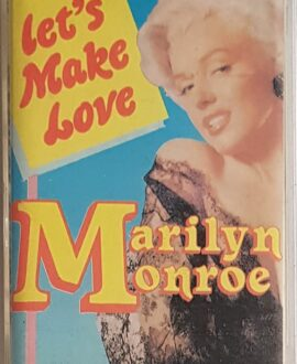 MARILYN MONROE LET'S MAKE LOVE audio cassette