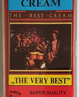 CREAM THE BEST CREAM audio cassette