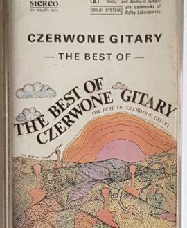 CZERWONE GITARY THE BEST OF audio cassette
