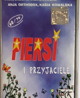 PIERSI I PRZYJACIELE  KAZIK, GADZIO...  audio music cassette tape