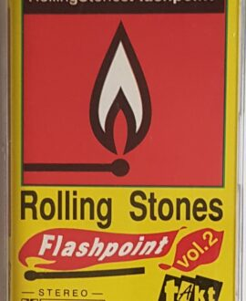 ROLLING STONES  FLASHPOINT vol.2 audio cassette