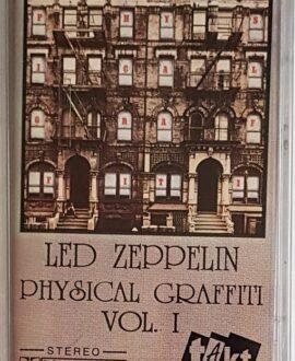 LED ZEPPELIN  PHYSICAL GRAFFITI vol.1 audio cassette