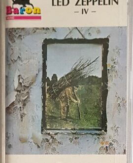 LED ZEPPELIN  IV audio cassette