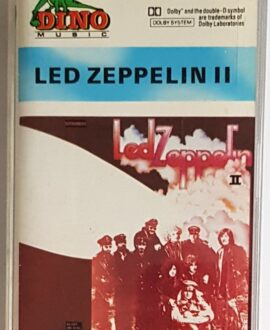 LED ZEPPELIN  II audio cassette
