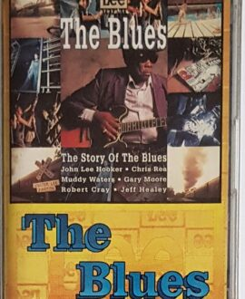 THE BLUES  GARY MOORE, ROBERT CRAY...audio cassette