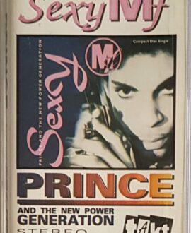 PRINCE  SEXY MF audio cassette