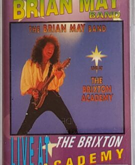 THE BRIAN MAY BAND  LIVE AT THE BRIXTON ACADEMY audio cassette