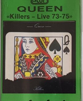 QUEEN  KILLERS LIVE 73-75 audio cassette