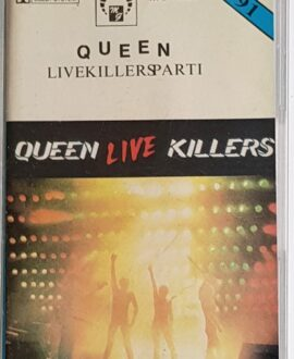 QUEEN  LIVE KILLERS PART I audio cassette