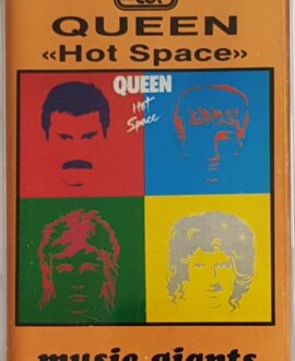 QUEEN  HOT SPACE audio cassette