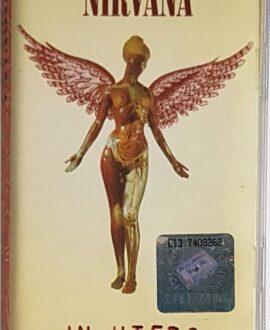 NIRVANA  IN UTERO audio cassette