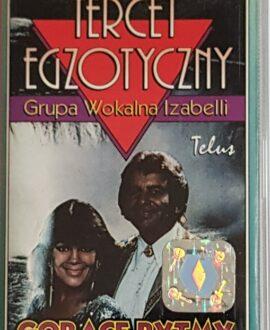 TERCET EGZOTYCZNY  GORĄCE RYTMY audio cassette