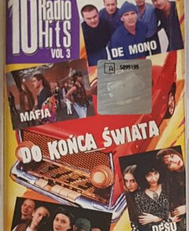 10 RADIO HITS  DE MONO, VARIUS MANX...audio cassette