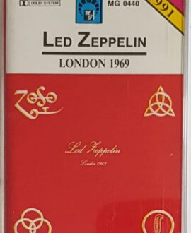 LED ZEPPELIN  LONDON 1969 audio cassette