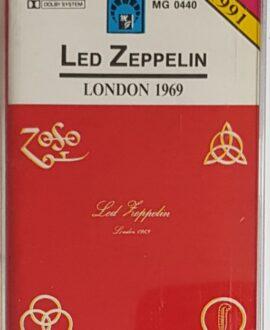 LED ZEPPELIN  LONDON 1969 audio cassette