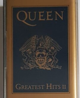 QUEEN  GREATEST HITS I & II TWO CASSETTE SET audio cassette