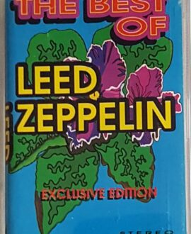 LED ZEPPELIN  THE BEST OF audio cassette