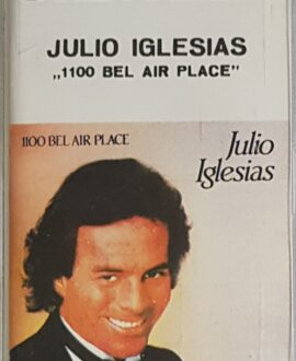 JULIO IGLESIAS  1100 BEL AIR PLACE audio cassette