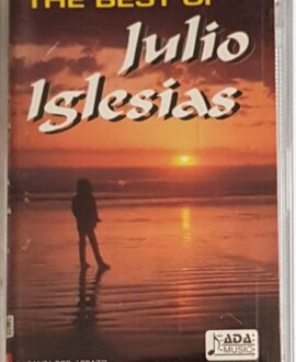 JULIO IGLESIAS  THE BEST OF audio cassette