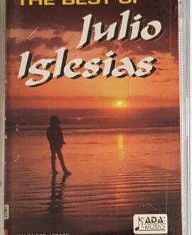 JULIO IGLESIAS  THE BEST OF audio cassette