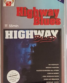 HIGHWAY BLUES  CHUCK BERRY, MUDDY WATERS..audio cassette