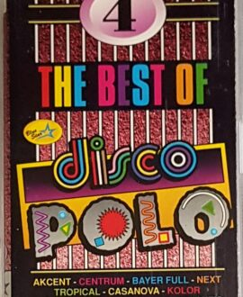 DISCO POLO THE BEST OF 4  AKCENT, KOLOR audio cassette