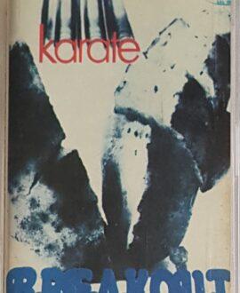 BREAKOUT KARATE audio cassette