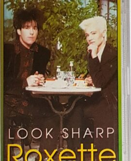 ROXETTE  LOOK SHARP audio cassette