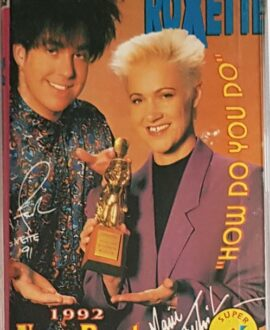 ROXETTE  NEW BEST...1992 audio cassette