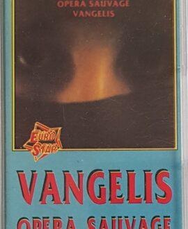 VANGELIS  OPERA SAUVAGE audio cassette