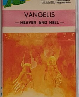 VANGELIS  HEAVEN AND HELL audio cassette