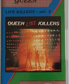 QUEEN  LIVE KILLERS vol.2 audio cassette