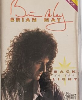 BRIAN MAY  BACK TO THE LIGHT audio cassette