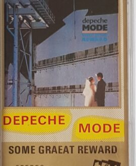 DEPECHE MODE  SOME GREAT REWARD audio cassette