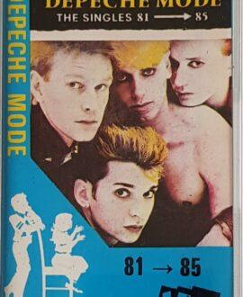 DEPECHE MODE  THE SINGLES 81-85 audio cassette