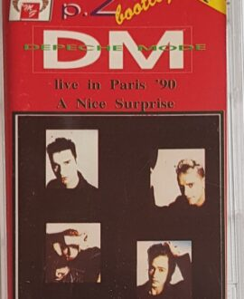 DEPECHE MODE  LIVE IN PARIS '90 part.2 audio cassette