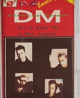 DEPECHE MODE  LIVE IN PARIS '90 part.2 audio cassette