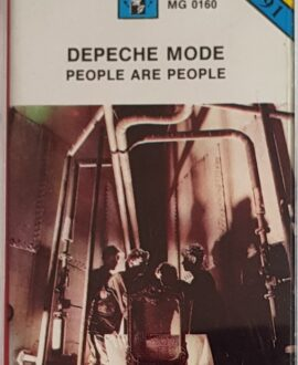 DEPECHE MODE  PEOPLE ARE PEOPLE audio cassette