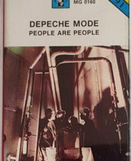 DEPECHE MODE  PEOPLE ARE PEOPLE audio cassette