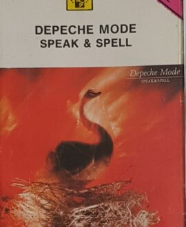 DEPECHE MODE  SPEAK & SPELL audio cassette